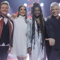 Técnicos do 'The Voice' avaliam duplas de pop, funk, MPB, sertanejo...